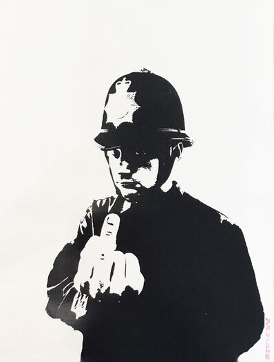 Banksy, 'Rude Copper - Unsigned ', 2002