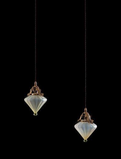 William Arthur Smith Benson, 'Pair of Ceiling Lights', 1901