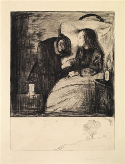 Edvard Munch, 'Das Kranke Kind (The Sick Child)', 1894
