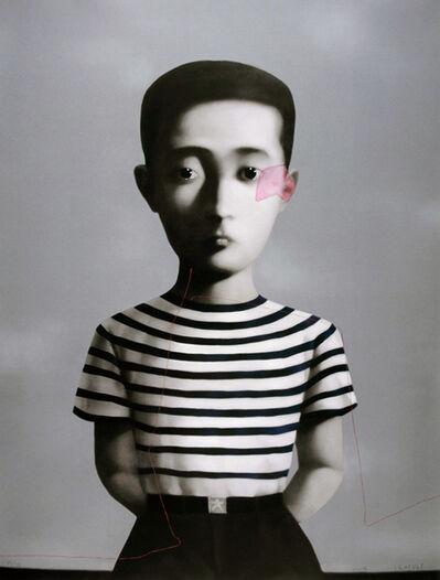 Zhang Xiaogang, 'Boy, from Big Family', 2006
