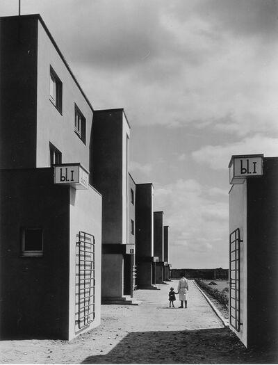 Arthur Köster, 'St. Georgs-Garten Housing Settlement, Architect Otto Haesler (St. Georgs-Garten Siedlung, Architekt Otto Haesler)', 1920s