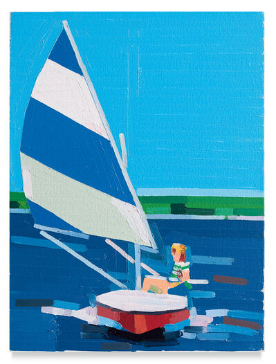 Guy Yanai, 'Teenager on a Boat', 2019
