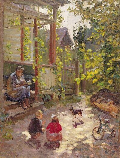 Lidya Stanislavovna Nefedova, 'Little garden', 1956