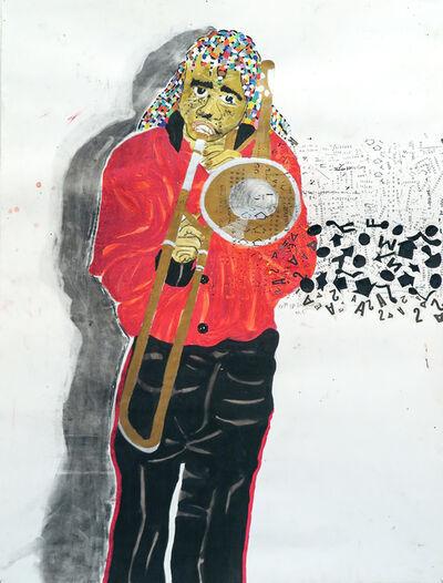 Kura Shomali, 'La Fanfare confiance, garde-à-vous 2', 2016