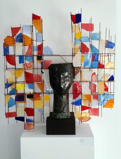 Manolo Valdés, 'Cabeza con colores', 2020