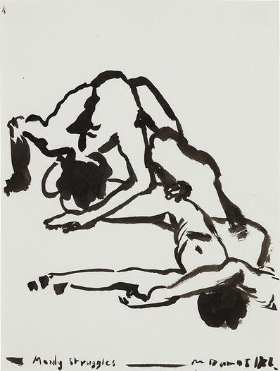 Marlene Dumas, 'Manly Struggles'