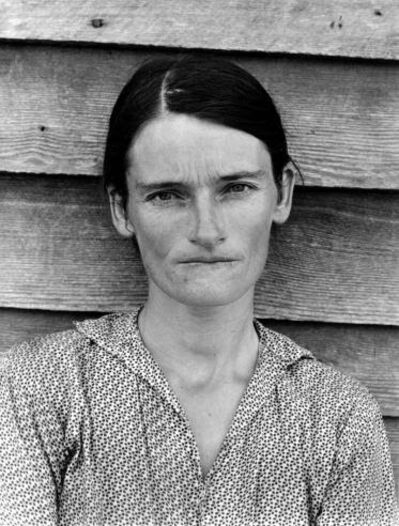 Walker Evans, 'Tenant Farmer's Wife, Alabama', 1936
