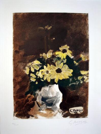 Georges Braque, 'Vase de fleurs jaunes', ca. 1950