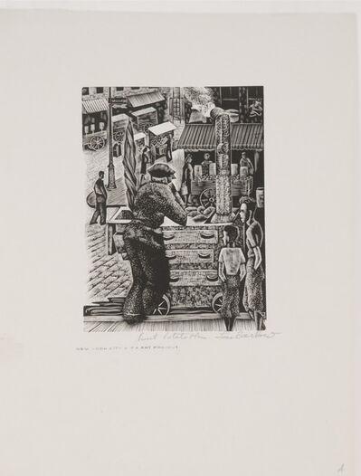 Lou Barlow, 'Sweet Potato Man', ca. 1935