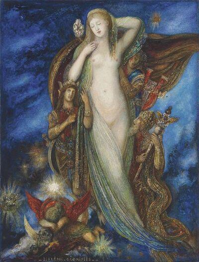 Gustave Moreau, 'Hélène Glorifiée', 1896