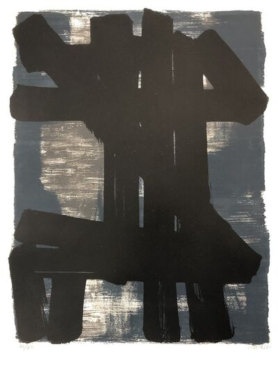 Pierre Soulages, 'Lithographie n°6', 1957