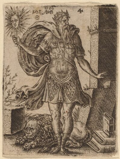 Abraham de Bruyn, 'Sun', 1569