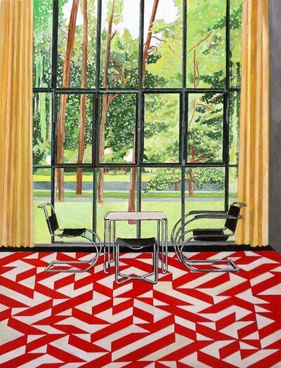 Eamon O'Kane, 'Meisterhaus Kandinsky/Klee with Anni Albers Carpet', 2019