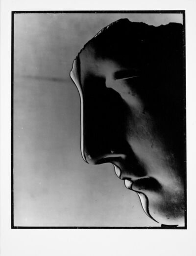 Erwin Blumenfeld, 'Profile of plaster cast New York, 1943', 1943/1989
