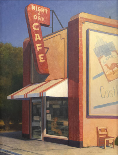 William Glen Crooks, 'Night and Day Cafe', 1991