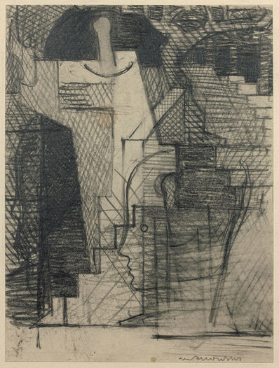 Louis Marcoussis, 'Le jardin (Étude pour Aurélia)', 1930
