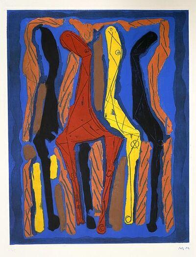 Marino Marini, 'Marino from Goethe, plate IV', 1979
