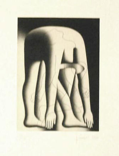Mark Kostabi, 'Feel The Burn', 1990