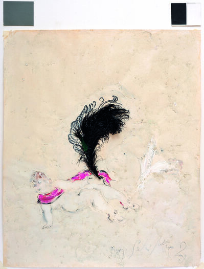 SRĐAN VUKČEVIĆ, 'An Ostrich Feather and White Wings', 2009