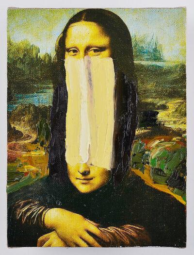 Przemek Matecki, 'Leonardo da Vinci, from the Small Paintings series (C018)', 2016-2018