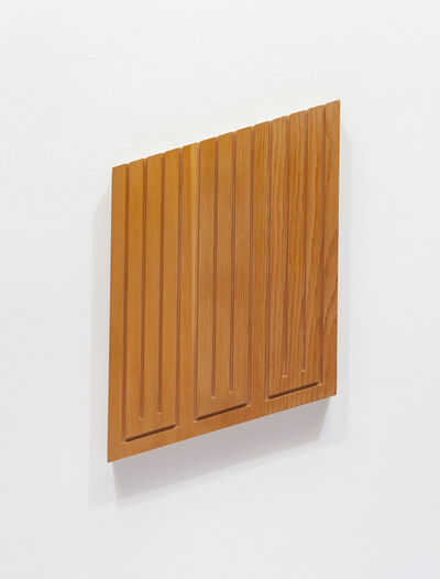 Donald Judd, 'Wood Cut', 1982