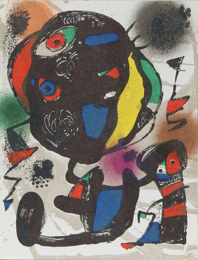 Joan Miró, 'Lithograph V (1260)', 1975