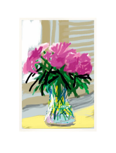 David Hockney, 'iPhone drawing 'No. 535', 28th June 2009', 2019