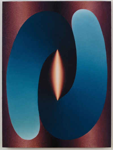 Loie Hollowell, 'Linked Lingam in Blue and Purple', 2015