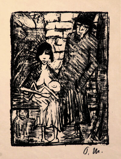 Otto Müller, 'Polnische Familie (Jewish Family; Poland)', 1920-1921