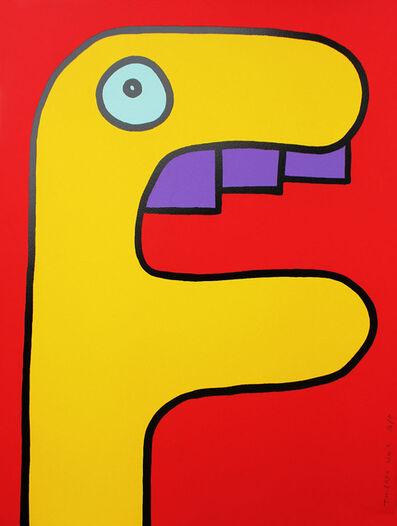 Thierry Noir, 'Yellow Crocodile', 2014