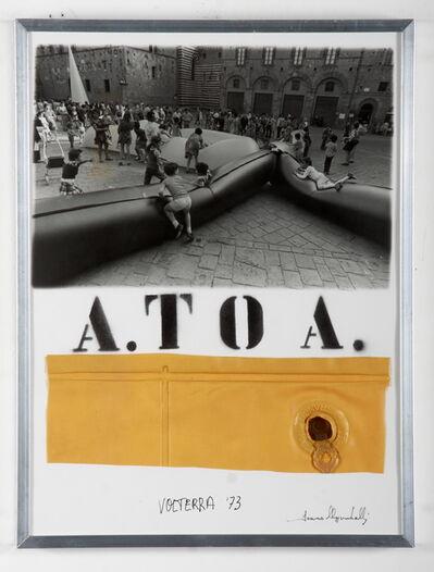 Franco Mazzucchelli, 'A. to A. (Priori Square, Volterra, 1973)', Late 1970s