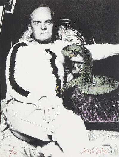 Michael McKenzie, 'Truman Capote and Snake', circa 1992