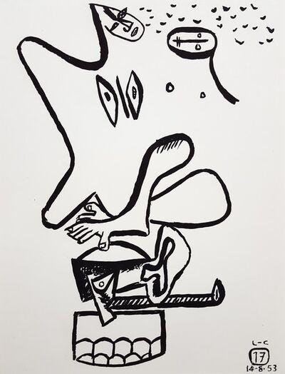 Le Corbusier, 'Unité, Planche 17', 1965