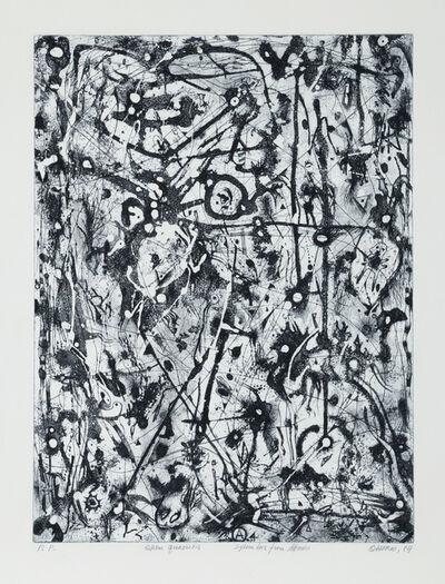 Alfonso Ossorio, 'Untitled V (Quen Quaeritis -blue)', 1984