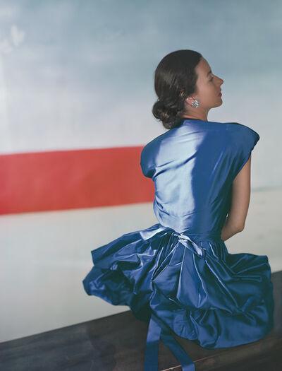 Horst P. Horst, 'Darien Leigh, Dress by Henri Bendel', 1946