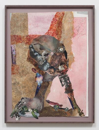 Wangechi Mutu, 'Chin rest with cut-eye', 2012