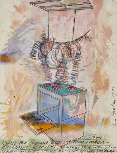 Dennis Oppenheim, 'Study for Second Generation Image Appliance Spirit #2', 1988