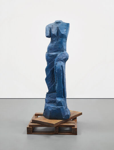 Jim Dine, 'The Zebra (The Blue Version)', 2010