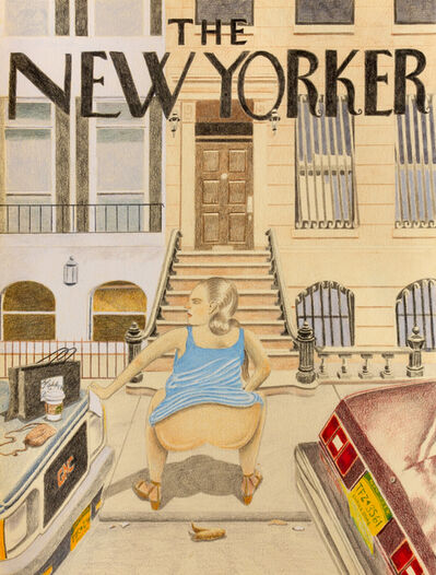 Timothy Wehrle, 'New Yorker', 2018