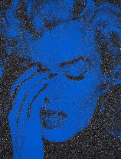 Russell Young, 'Marilyn Crying New York (Mediterranean Blue)', 2013