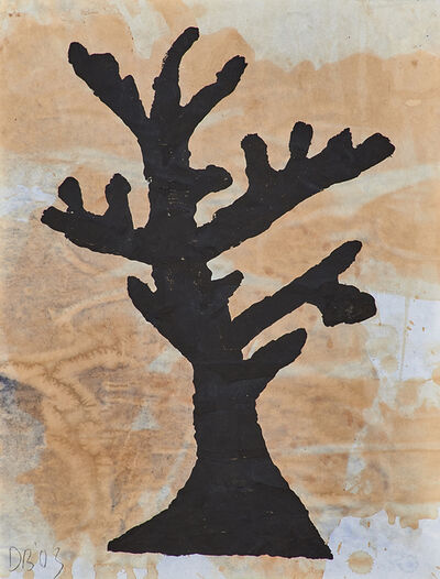Donald Baechler, 'Untitled (tree)', 2003