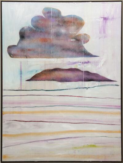 Benoît Maire, 'Peinture de nuages', 2019