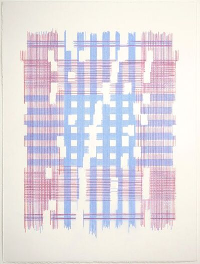 Laura Kaufman, 'The Most Mysterious Fact (Plaid)', 2018