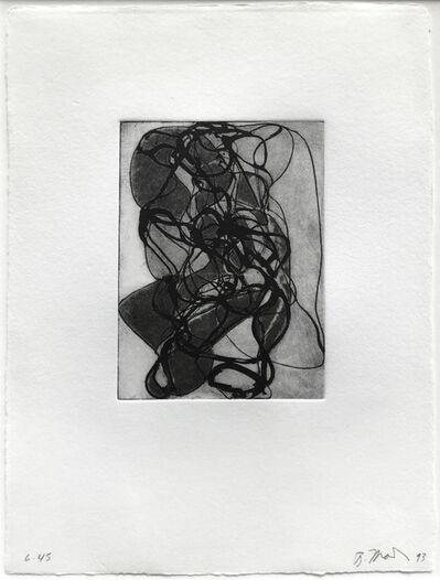 Brice Marden, 'Han Shan Exit #5', 1992