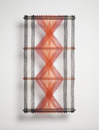 Peter Collingwood, 'Red, Orange and Black Macrogauze', ca. 1970