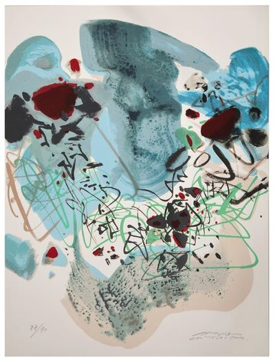 Chu Teh-Chun, 'Untitled ', ca. 1980