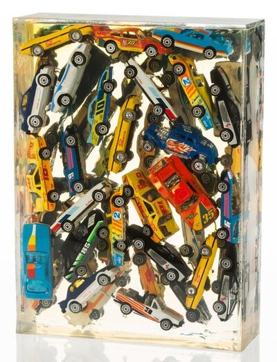 Arman, 'Car Accumulation (Matchbox Cars)', 1985