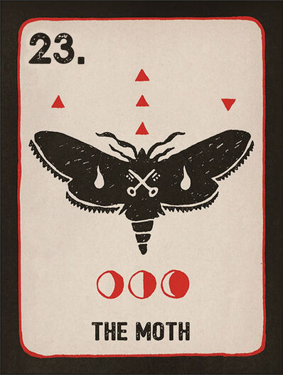 Daniel Martin Diaz, '23. The Moth', 2018
