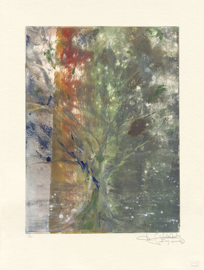 Makoto Fujimura, 'Van Nuys Monotype Series No. 4 凡奈斯絹印單刷系列', 2017