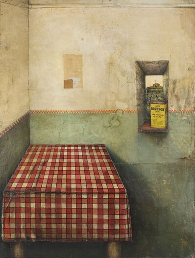 Gregory Gillespie, 'Roman Interior (Still Life)', 1966-1967
